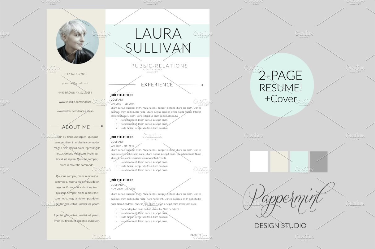 resume template - Word Template Cover Letter