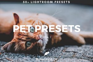50+ Pet Lightroom Presets Vol. I