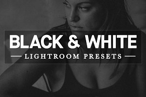 25 Black & White Lightroom Presets