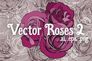Vector Roses 2