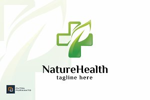 Nature Health - Logo Template