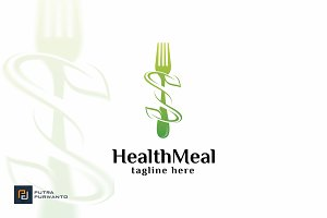 Health Meal - Logo Template