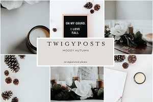 Moody Autumn | Styled Stock Photos