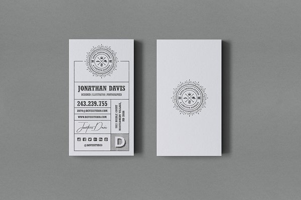 Kraft Agency Business Card #59