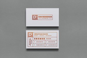 Agency / Stuido Business Card #60