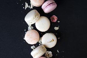 Variety Pastel macaroons