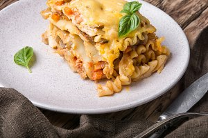 italian traditional lasagna