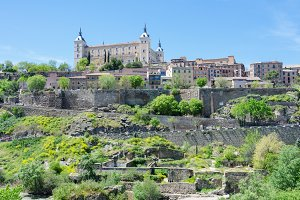 Alcazar of Toledo,Spain