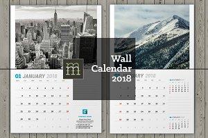 Wall Calendar 2018 (WC031-18)
