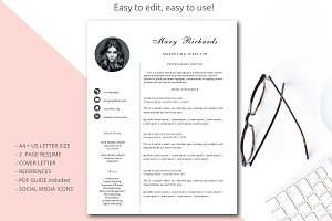 Resume template Simple style