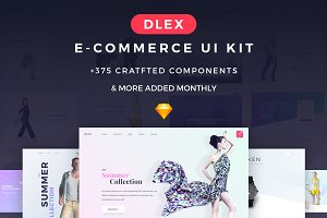 Dlex E-Commerce UI Kit Ultimate