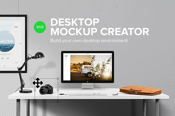 Download Desktop Mockup Creator