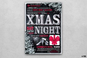 Christmas Eve Flyer Template V7