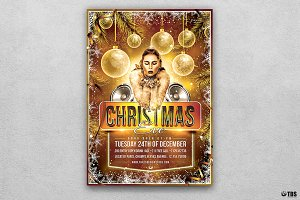 Christmas Eve Flyer Template V4