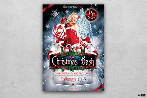 Christmas Bash Flyer Template V1
