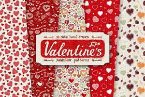 10 Valentine Day Patterns