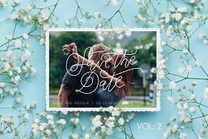 5 Handwritten Wedding Designs Vol.2