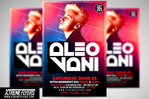 Club DJ Flyer Template