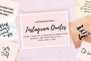Instagram Quote collection