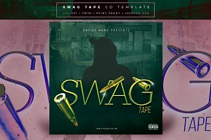 SwagTape CD Cover Template