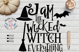 I am the Wicked Witch of Everything