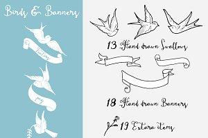 Birds & Banners