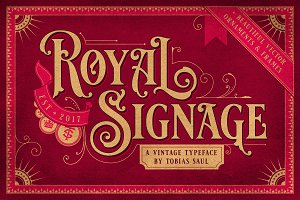 SALE!! – ROYAL SIGNAGE + ORNAMENTS