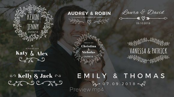 Wedding Photo Album Titles