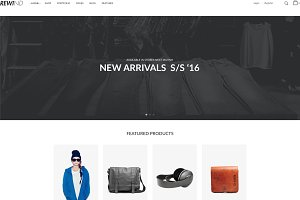 Rewind-Creative WooCommerce Theme