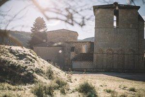 The monastery of San Pedro de Arlanz