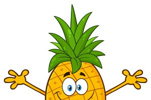 Happy Pineapple Fruit