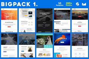 BigPack 1 Email-Template Bundle