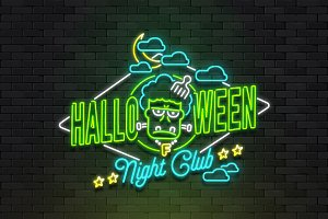 Halloween light sign - 5