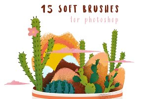 15 Soft Brushes for Photoshop