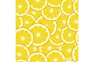 Seamless Pattern from oranges