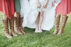 Bride & Bridesmaid Shoes