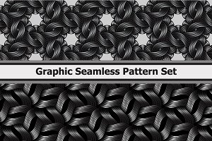 8 Graphic Wavy Metallic Patterns