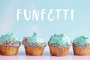 Funfetti - a sweet & simple font
