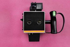 Vintage file camera