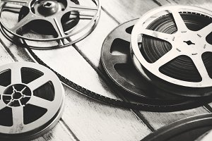 Retro video film rolls