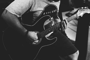 Guitarist musician