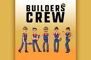 Sketch builders concept