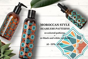 Moroccan style patterns