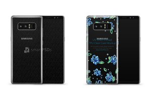 Galaxy Note 8 UV TPU Clear Case