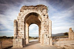 Arch of Cáparra (Spain)
