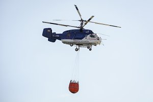firefighter helicopter Kamov