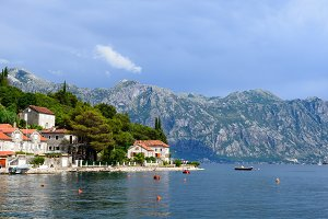 Coast Bay of Kotor