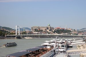View of the Budapest, waterfront