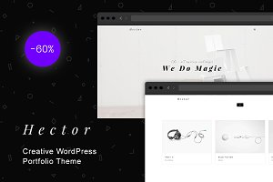 Hector - Creative WordPress Theme