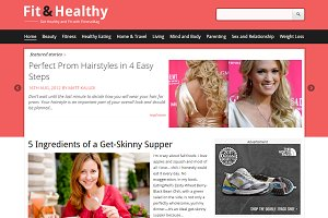 Fit&Healthy Fitness & Health Theme